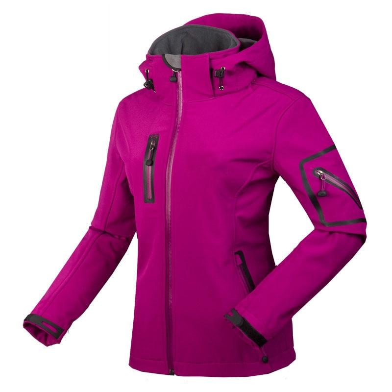 2017 New Design of Waterproof Hiking Jackets Womens