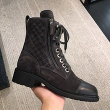 Cross-tied Botas Brand Ankle Short Botas Mujer Mixed Color Ladies Shoes Zipper Women Shoes Warm Women Boots