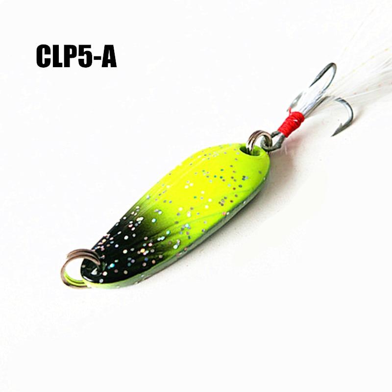 font b Fishing b font font b Lure b font Spoon Pesca Peche Tackle Wobblers