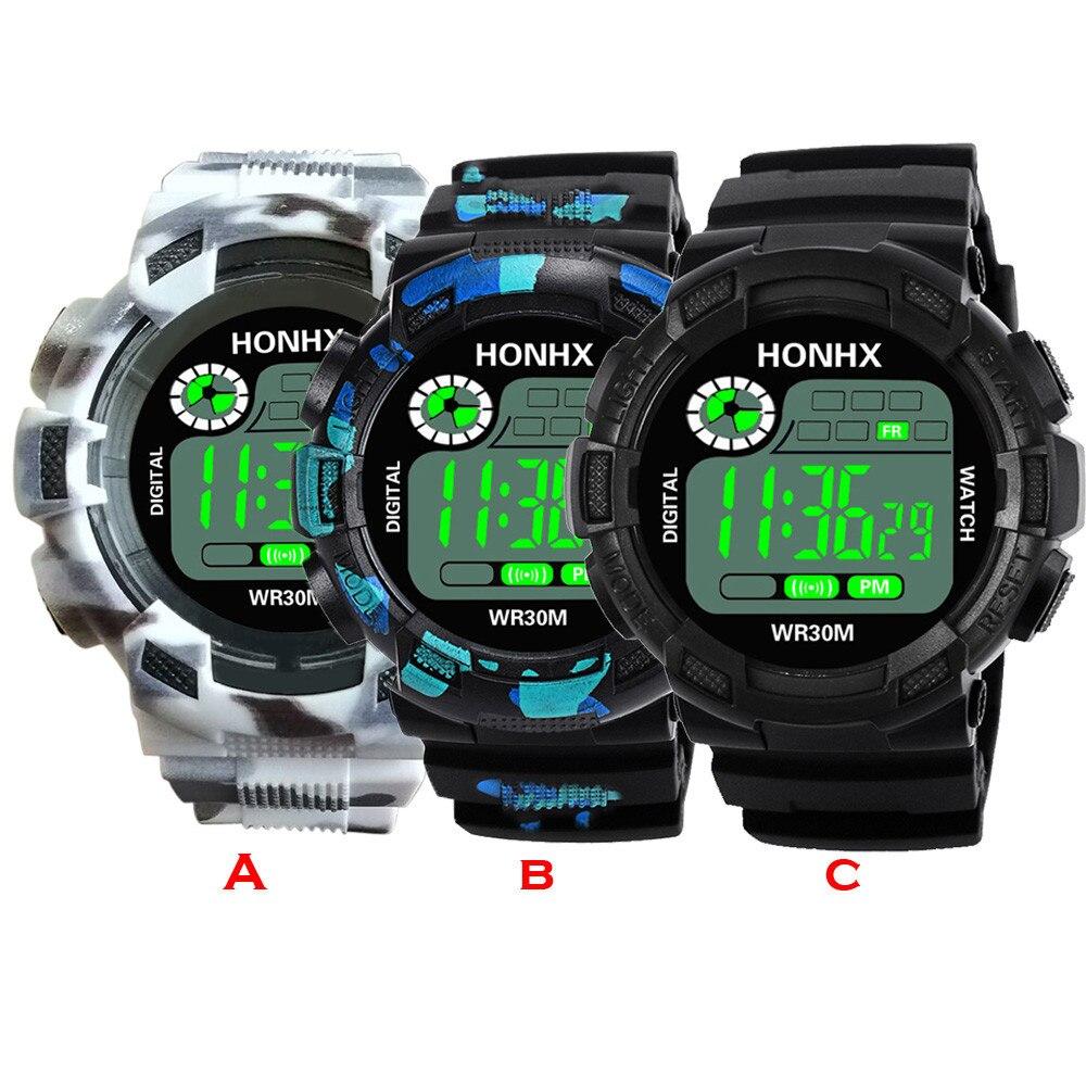 #5001 Fashion Creative Leisure Man Watch Luxury Men Analog Digital Military Army Sport LED Waterproof Wrist Watch цена