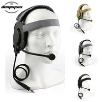 Tactical Headset Shooting Hunting Military Headset Hearing Ear Protection Headphone for Hunting