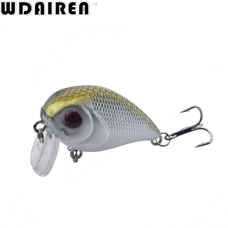 1Pcs 5cm 7g Winter Crank Wobblers Fishing Lures pesca bait fish Tackle Topwater Swimbait jig Artificial Japan Fishing Lure peche