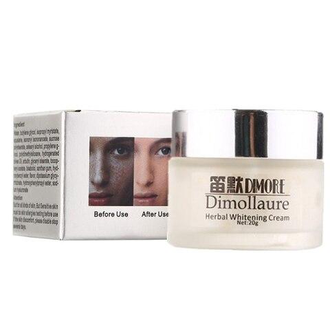 Dimollaure Strong effect whitening cream 20g  Remove Freckle melasma Acne Spots pigment Melanin face care cream by Dimore Karachi