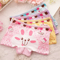2 pcs/lot All for the children's clothing girls underwear boxer pure cotton The children's underwear pants for girls 2076