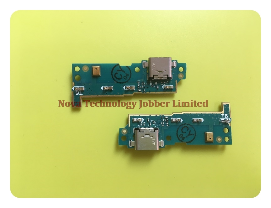 Wyieno L1 Charging Port For <font><b>Sony</b></font> L1 G3311 <font><b>G3312</b></font> G3313 <font><b>USB</b></font> Charger Connector Flex Cable Replacement Parts Microphone tracking image