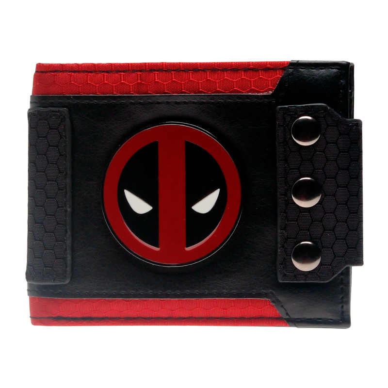 Deadpool Bi-Fold Men  Wallet Women Purse DFT-1869