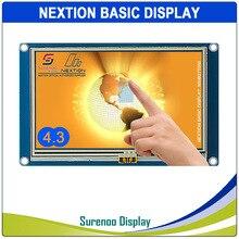 "4.3 ""NX4827T043 Nextion พื้นฐาน HMI สมาร์ท USART UART Serial Resistive TFT LCD โมดูลสำหรับ Arduino RaspBerry pi"