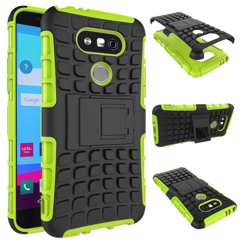 Good Aliexpress.com : Buy For Funda LG G5 Case Heavy Duty Rugged Cell Phone Cases  For Coque LG G5 Case Cover Hybrid Armor Hard Case Back Cover With Stand  From ...