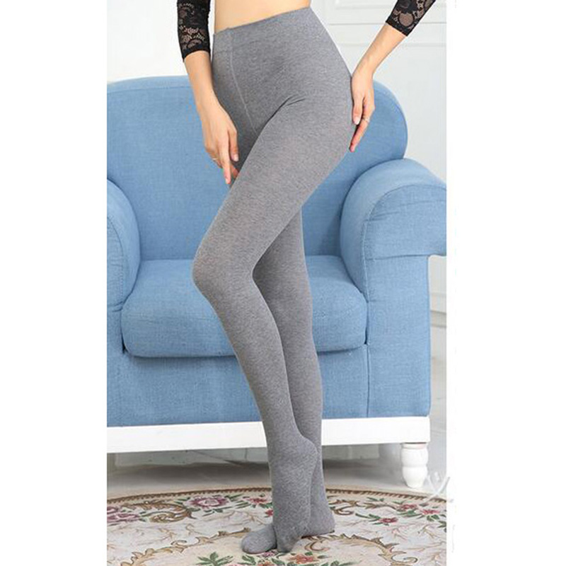 New Fall Winter Tights for Female Womens Warm Fashion Sexy Pantyhose Cotton Stovepipe Anti-pilling Bottoms 8z-AA642