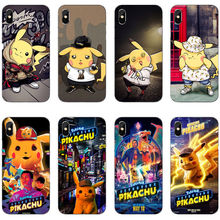 Funny cartoon animated Pokemons Pikachus soft TPU print cover phone case for iPhone 11 Pro MAX SE 5 6 6S 7 8Plus Max XR XS 10