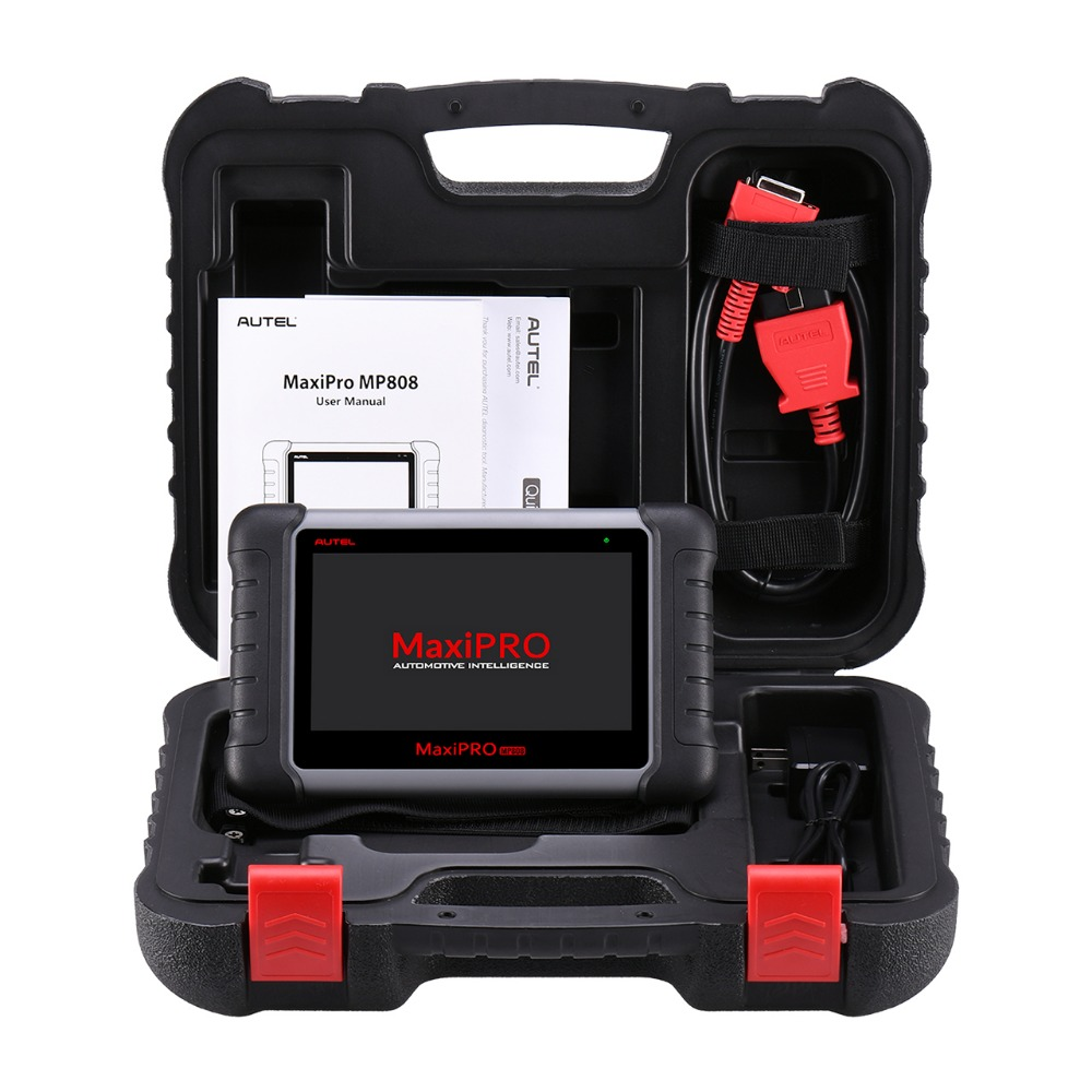 Image 5 - Autel MaxiPRO MP808 Car Diagnostic Scanner All System Auto Diagnostics Scan Tool Automotive Diagnosis Autoscanner PK DS808 MS906-in Engine Analyzer from Automobiles & Motorcycles