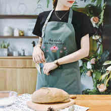 Creative painting apron female adult fashion Korean home art painter clothes waterproof antifouling overalls