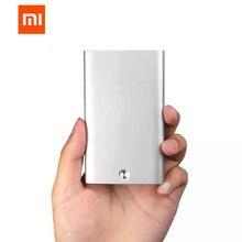 Xiaomi Mijia MIIIW автоматический всплывающий мужской бизнес-держатель для карт тонкий алюминиевый футляр для карт памяти Кредитная карта ID карта хранение Хранитель