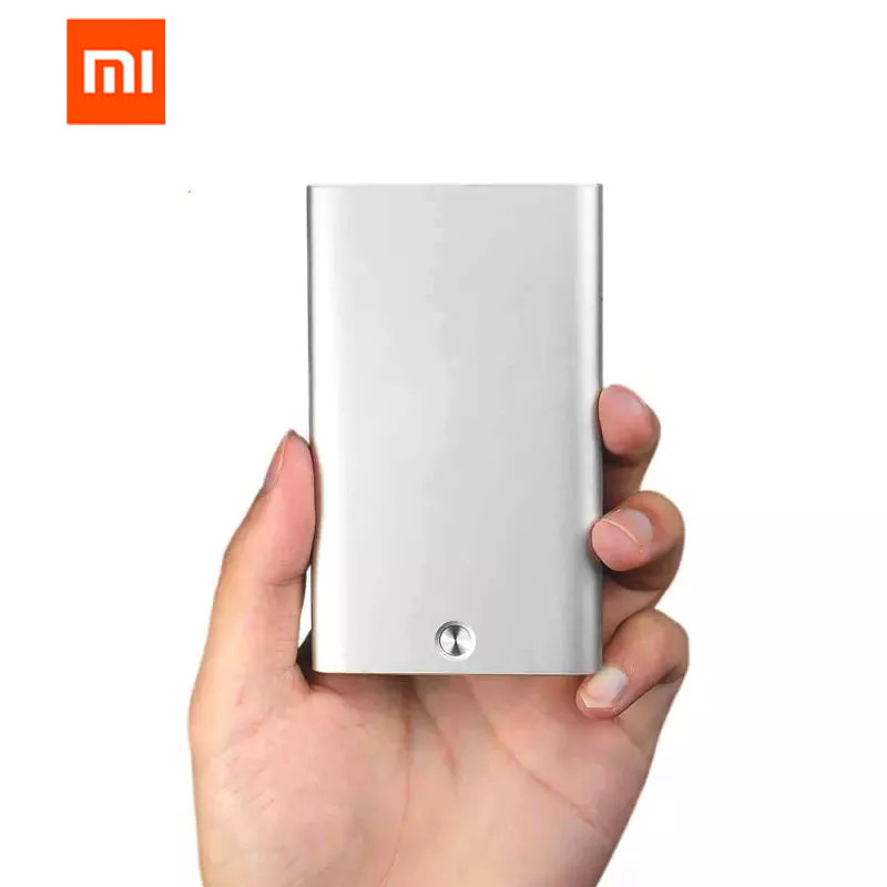 Original Xiaomi Mijia MIIIW Automatic Pop Up Men Business Card Holder Slim Aluminum Card Case Credit Card ID Card Storage Keeper
