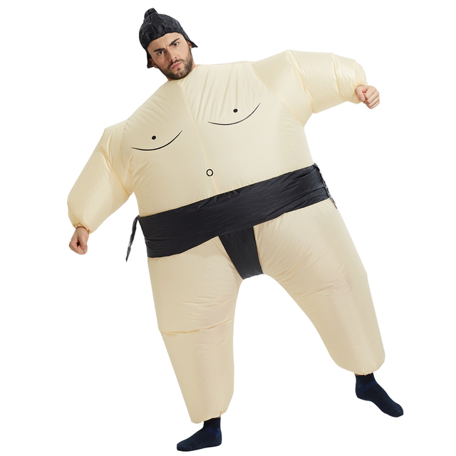 cosplay  Halloween Purim Sumo Costumes Inflatable Dinosaur Cowboy Costumes Air blown Ride on Horse Carnival Animal Costumes