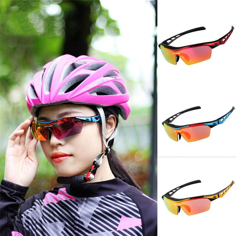Fashionable Riding Glasses Polarized Outdoor Windproof Cycling Glasses With Frame For Short Sighted Lenses For Men & Women|Cycling Eyewear| |  - title=
