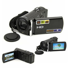 "DV-666 2.7"" TFT LCD 1080P Full HD 16x Digital Zoom Video Camera Camcorder Black Recorder DV DVR"