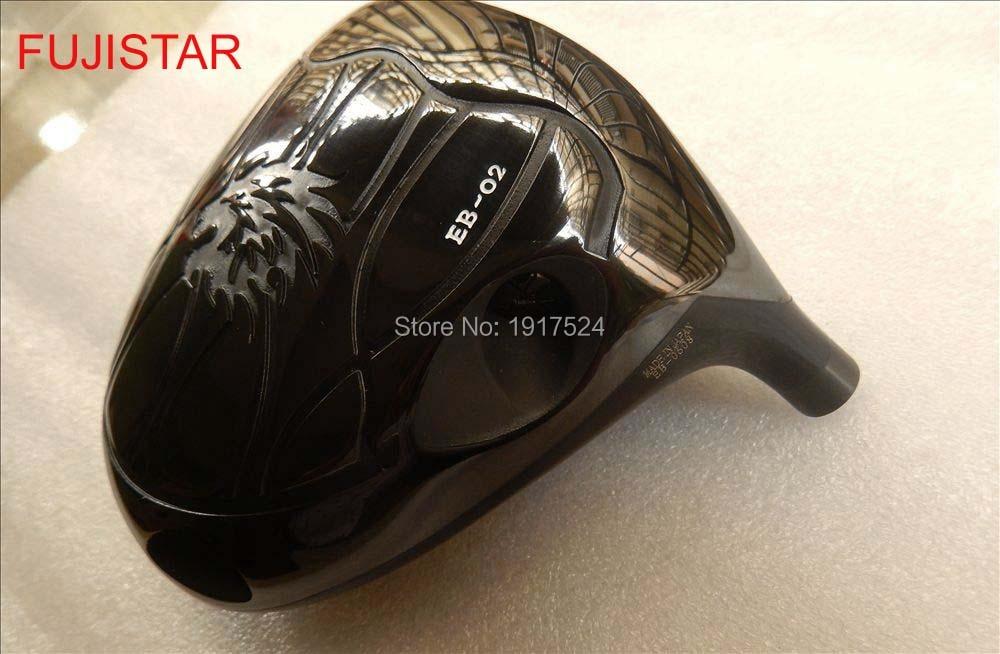 FUJISTAR GOLF EMILLID BAHAMA EB-02 Titanium Golf Driver Head 10.5 Deg Loft Stock