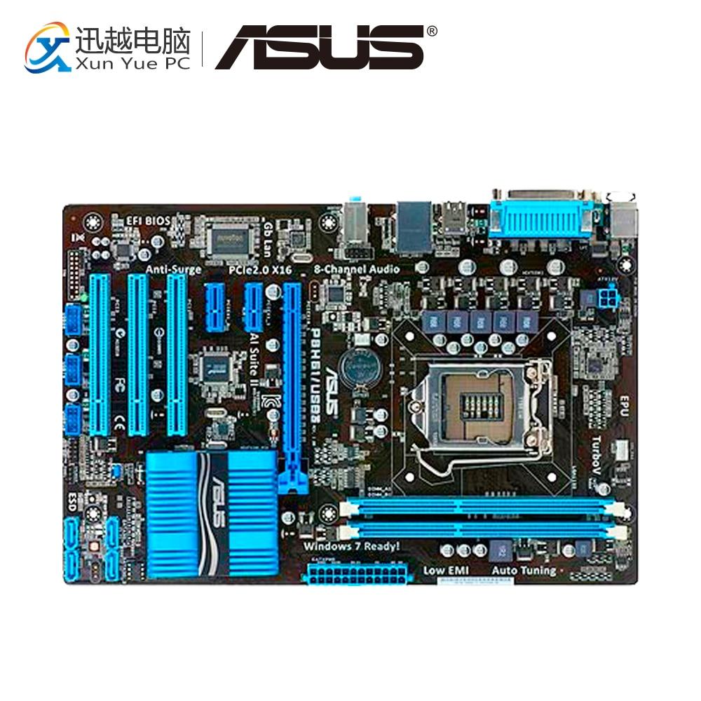 все цены на Asus P8H61/USB3 Desktop Motherboard H61 Socket LGA 1155 i3 i5 i7 DDR3 16G ATX On Sale