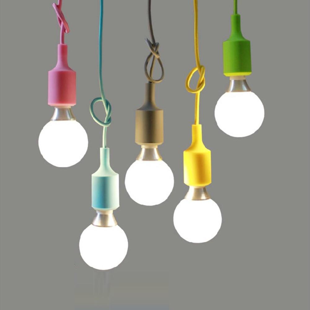 Diy Pendant Lighting Online Get Cheap Coloured Pendant Lights Aliexpresscom Alibaba