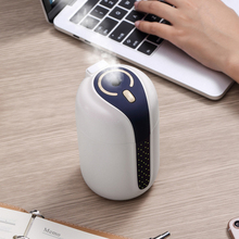 330ML Air Humidifier USB Aromatherapy Machine Atomization Mini Mute Car Humidifier Essential Oil Diffuser for Car Home floor style humidifier home mute air aromatherapy machine bedroom high capacity essential oil diffuser