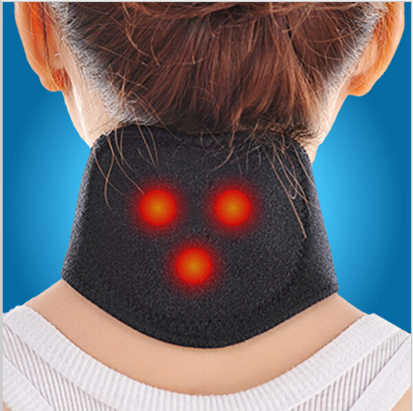 1Pcs Tourmaline Magnetic Therapy Neck Massager Cervical Vertebra Protection Spontaneous Heating Belt Body Massager