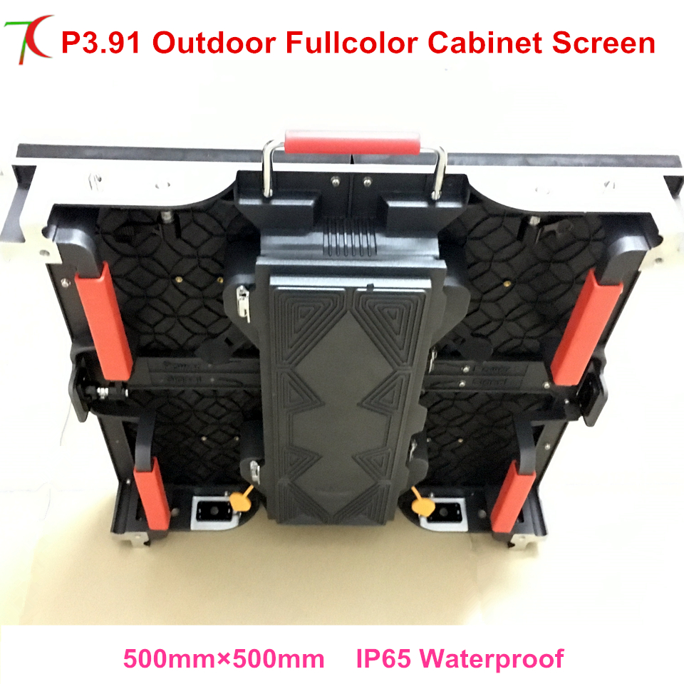 HD outdoor P3.91 color led panel advertising big outdoor tv led display board screen ...