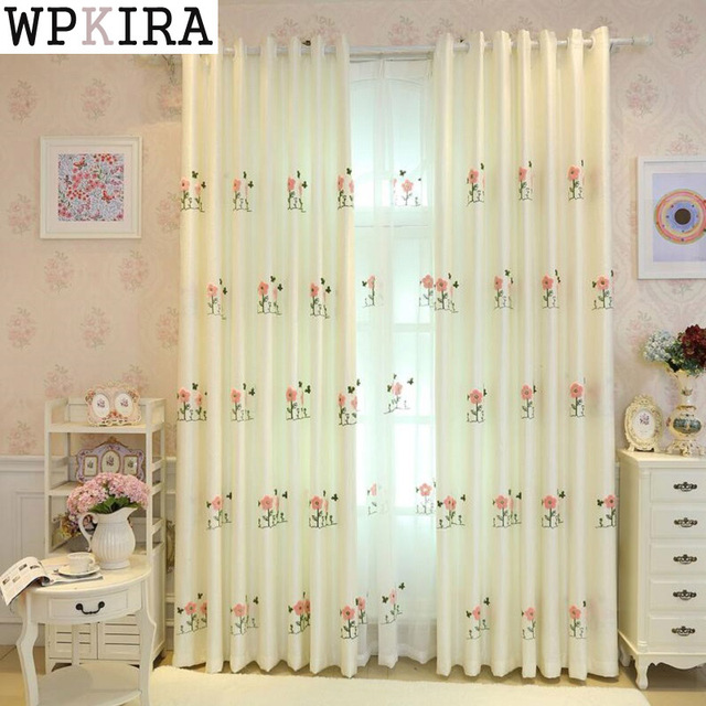 cartoon kids room curtain cortina sheer curtain fabric living room sheer curtain night cartoon curtain s092u002620