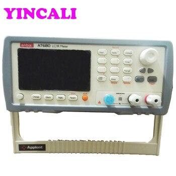 Оригинальный измеритель тока утечки тестер AT680 цифровой измеритель сопротивления изоляции Макс считывание 9999 выходное напряжение 1V-650VDC