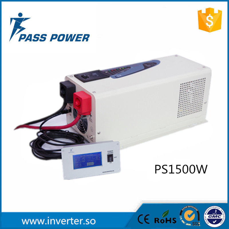 2016 Factory Directly Sell Competitive Price Off Grid Inverter UPS Low Frequency Inverter 1500W Caravan RV Inverter