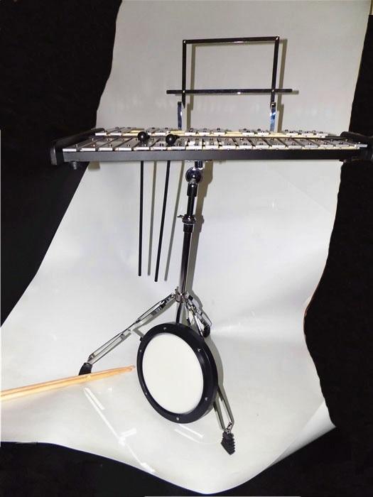 Combo Glockenspiel / Practice drum with Carrier and Stick Percussion - Երաժշտական գործիքներ - Լուսանկար 2