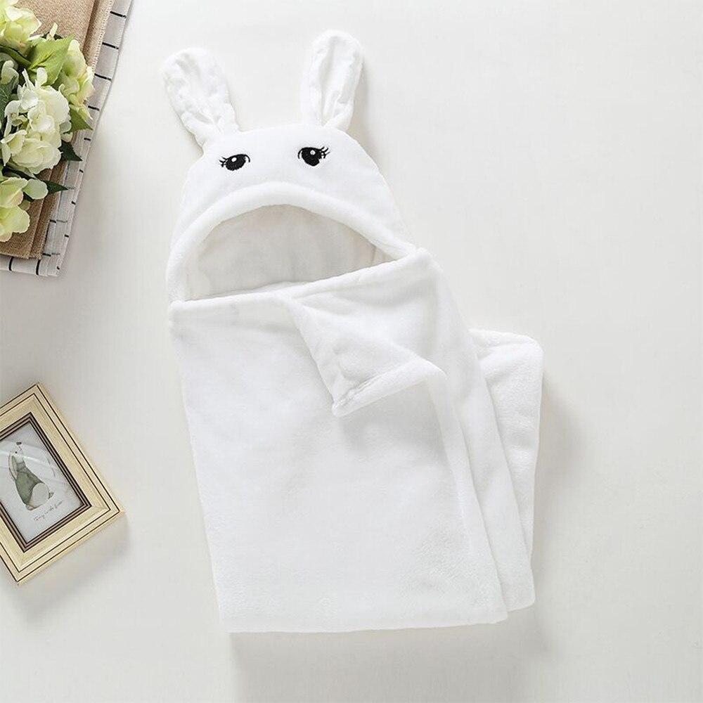 Newborn Baby Boy Girl Cute Cartoon Plush Receiving Blanket Sleeping Wrap Swaddle foulard for new born baby bath towel serviette