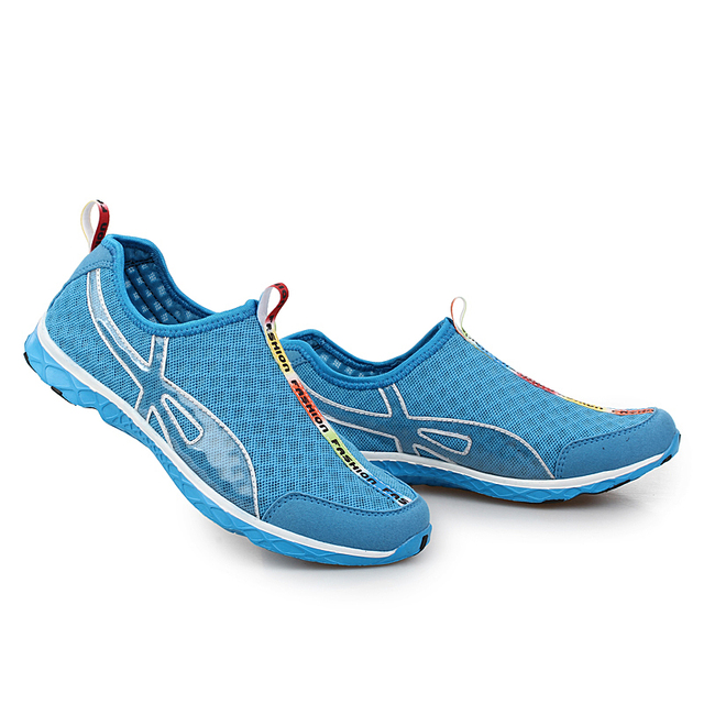 FEOZYZ Summer Breathable Running Shoes For Men Women Light Quick Dry Walking Water Shoes Outdoor Sneakers Athletic Sport Shoes