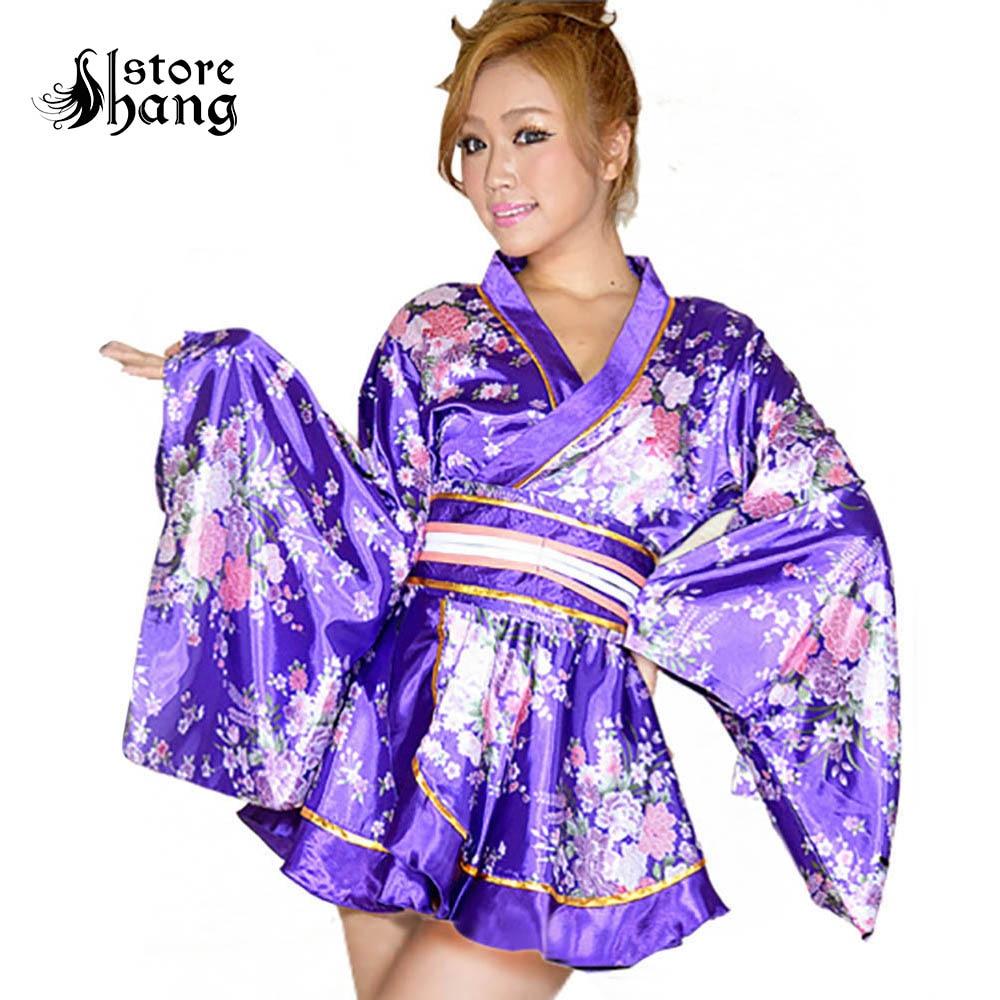 Japanese Dressing Gown: Aliexpress.com : Buy Sexy Girl Luxury Short Kimono Robe