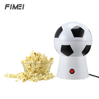 Football Style Household Electric Popcorn Machine DIY Popcorn Maker Food Processors For Kids With AC 220 240V 1200W