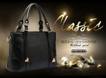 Free Shipping Special Offer 2 Color Pu Leather Handbag  For Women Shoulder bag Fashion