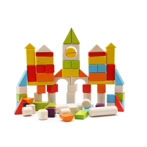 Children Building Block Baby Toys Game Blocks wooden Educational for Kids free shipping