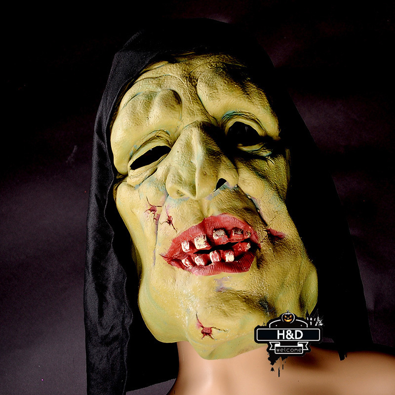 Creepy Cosplay Halloween Masquerade Masks Witch Mask Full Face Mask Fancy Dress