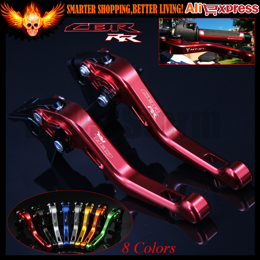 ФОТО 8 Colors Laser Logo (CBR RR) Red For Honda CBR600RR 2003 2004 2005 2006 CNC Aluminum Motorcycle Short Brake Clutch Levers