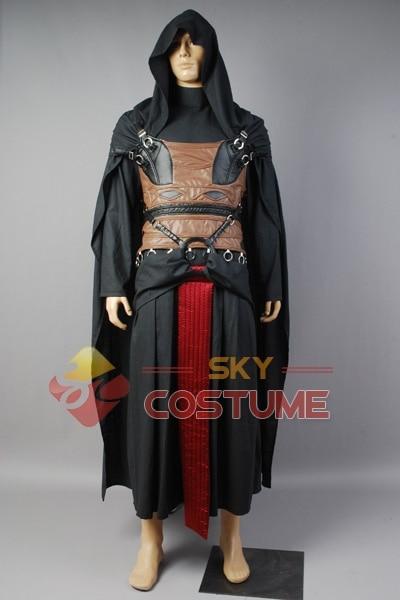 Star Wars Darth Revan Cosplay Kostuum Volledige set Outfit Cape - Carnavalskostuums - Foto 2