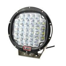 SOLICHT 9 дюймов 185 Вт светодиодный фонарь для вождения 4X4 12 в 24 В круглый 37x5 Вт 185 Вт супер яркие Прожекторы для внедорожника автомобиля