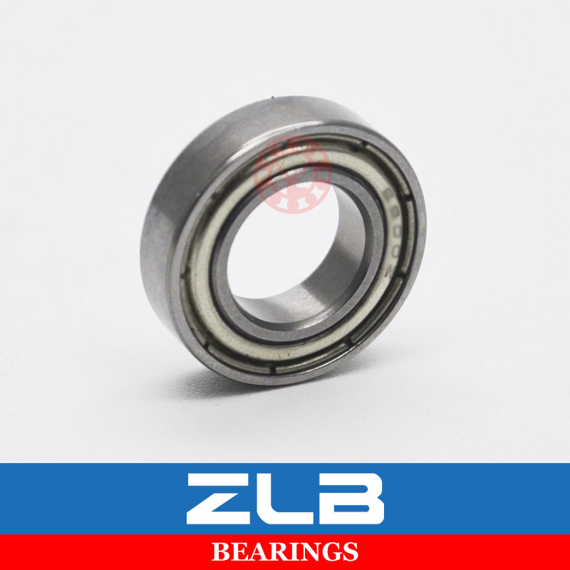 6802 61802ZZ <font><b>6802ZZ</b></font> 6802-2Z 6802-Z 10Pcs 15x24x5mm Chrome Steel Deep Groove Bearing Metal Sealed Thin Wall Bearing image