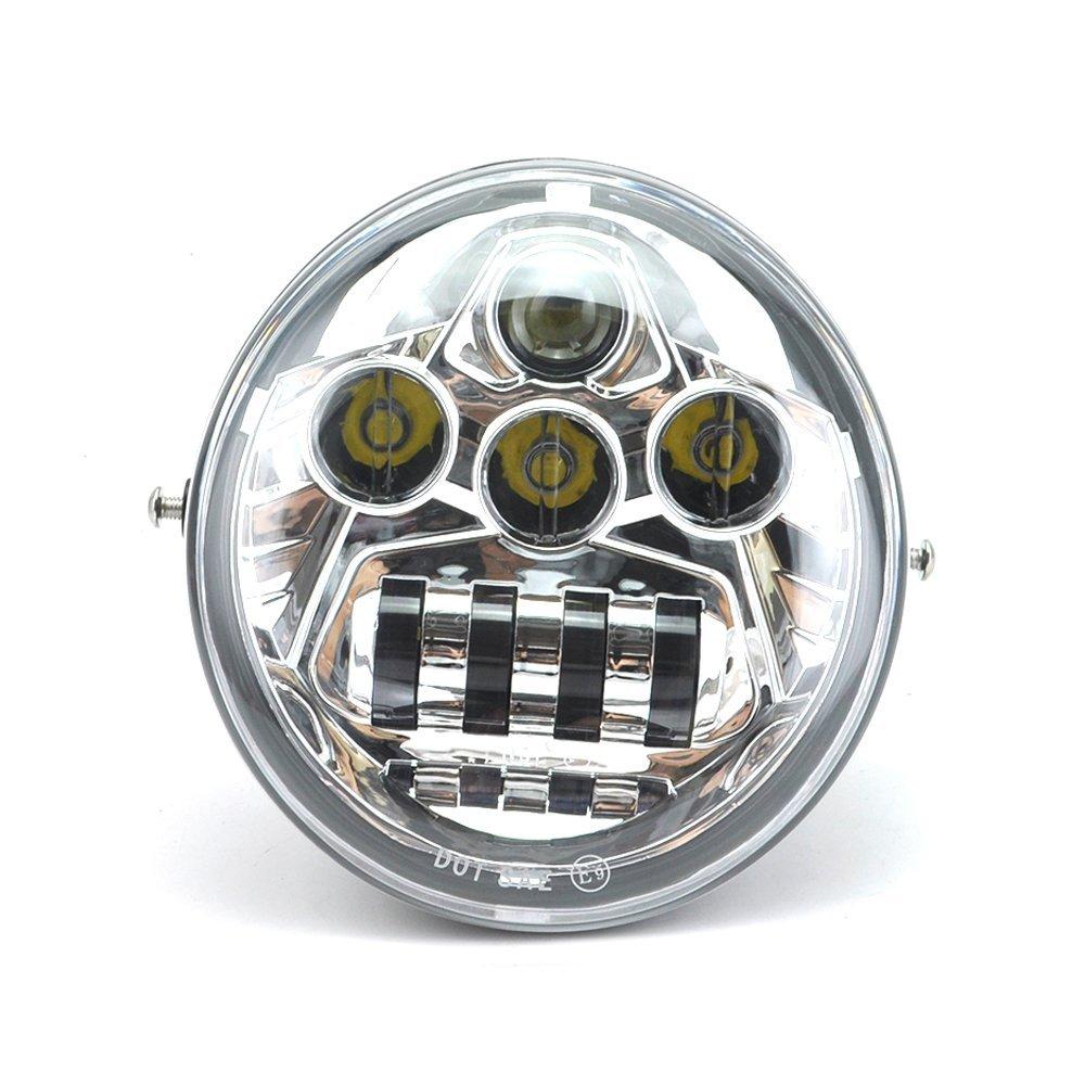 1PCS For Motor V Rod VROD VRSCA VRSC Headlight VRSC/V-ROD LED MOTORCYCLE HEADLIGHT