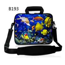 Fishes 13″ 15″ Laptop computer shoulder bag sleeve case For 13.three 15.four inch Apple macbook air professional retina 13 15 Neoprene waterproof ladies