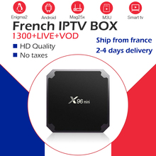 X96Mini+ с системой Neo IPTV Франция арабский бельгийский IPTV NeoPro IP tv m3u 1300Live+ 2000VOD wifi 4K плеер Android Smart tv Box телеприставка