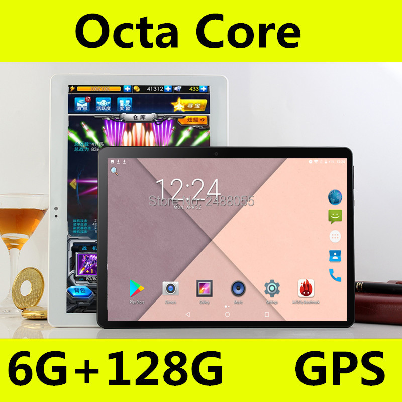 2019 date 10 pouces tablette Octa Core 6 GB RAM 64 GB ROM 4G FDD LTE 1280x800 IPS Kid cadeau tablettes Android 8.0 GPS tablette 10.1