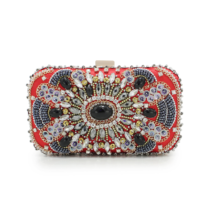 2017 Pearl Evening Bag Women Luxury Beading Day Clutch Red Dinner Party Hand Bags Bridal Wedding Mini Purse Chain Bags(C1110)2017 Pearl Evening Bag Women Luxury Beading Day Clutch Red Dinner Party Hand Bags Bridal Wedding Mini Purse Chain Bags(C1110)