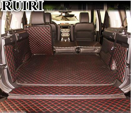 Buona stuoie! Tappetini tronco speciale per Land Rover Discovery 4 2016-2010 5 posti di avvio impermeabile tappeti cargo liner mat, trasporto libero