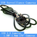 Камеры наблюдения 720 P HD 170-degree широкий угол обзора USB2.0 модуль камеры
