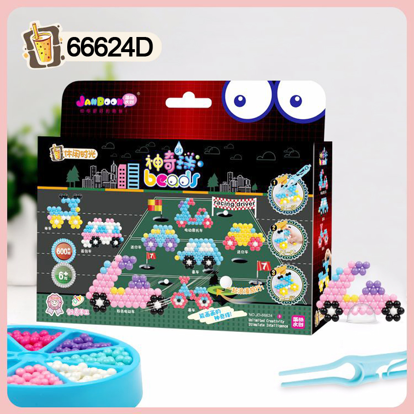 DOLLRYGA Water Beads Set Education Spray Bead 66624D Quality Juguetes Beads DIY Toys For Children Aqua Perlen Kid Bead Girl Gift